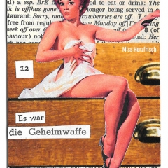 Miss Herzfrisch Hosentaschenkunst 2016 Nr. 12