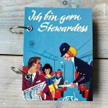 """Herzfrisch Kalender 2018 aus dem Buch """"Ich bin gern Stewardess"""""""