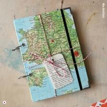 Miss Herzfrischs Wunschlandbummler Reisetagebuch A5 Großbritannien London