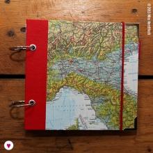 Miss Herzfrischs Wunschlandbummler Reisetagebuch Album Italien