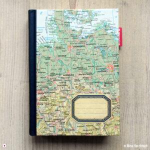 Herzfrisch Wunschlandbummler Diary Reisetagebuch