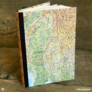 Herzfrisch Wunschlandbummler Diary Reisetagebuch Myanmar