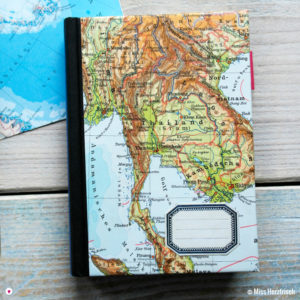 Herzfrisch Wunschlandbummler Diary Reisetagebuch Thailand