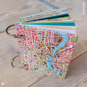 Miss Herzfrischs Wunschlandbummler Reisetagebuch Mini Cover
