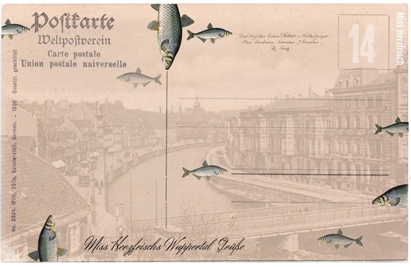 drawing_challenge_fische_wuppertal_postkarte
