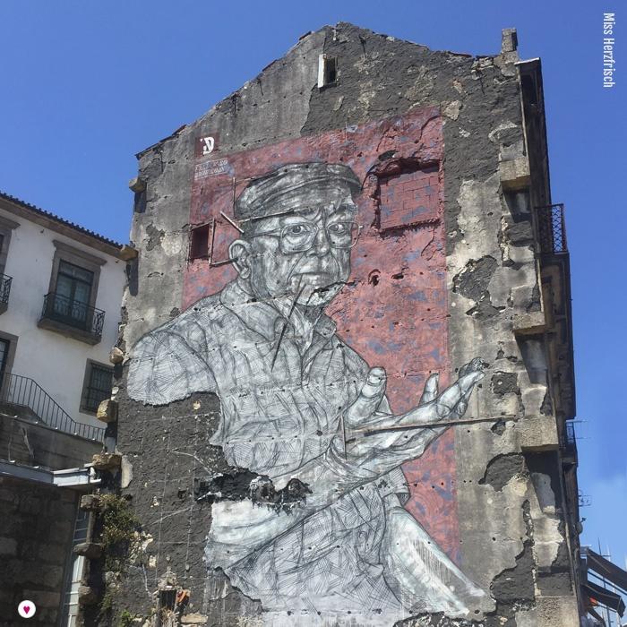 Miss Herzfrischs Porto Streetart Inspirationen fredericodraw