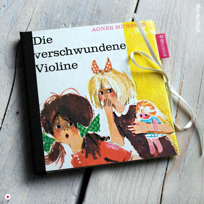 Miss Herzfrischs CD-Cover die verschwundene Violine von Agnes Münster