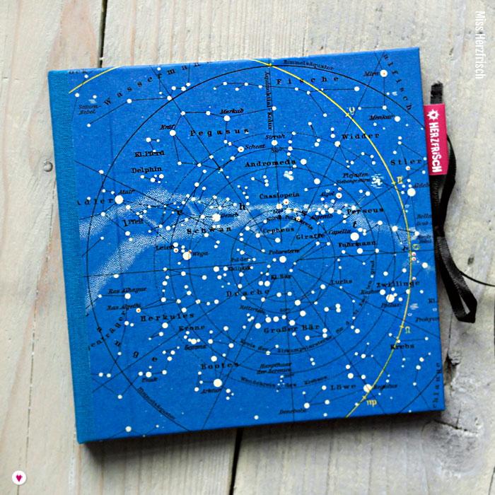 Miss Herzfrisch CD-Cover Sternenhimmel