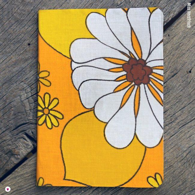Miss Herzfrischs Ideensammler Sommerblumen gelb A5