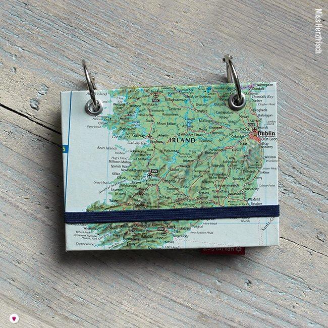 Miss Herzfrischs Wunschlandbummler Reisetagebuch Mini Irland Cover