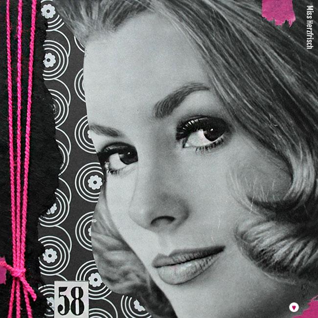Miss Herzfrisch Collage 15fünfzehn Pink Beauty