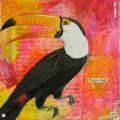 Miss Herzfrisch Collage 15fünfzehn Momentaufnahmen Sommeraugenblick * Tucan