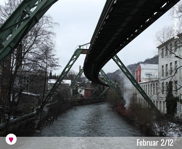 12tel-Blick von Wuppertal Februar