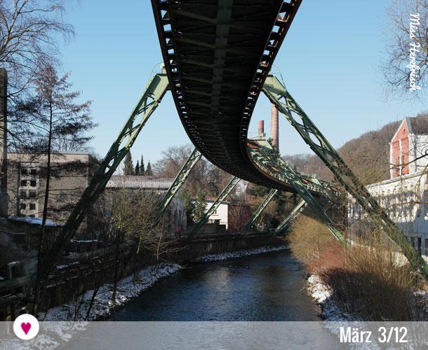 12tel-Blick von Wuppertal März