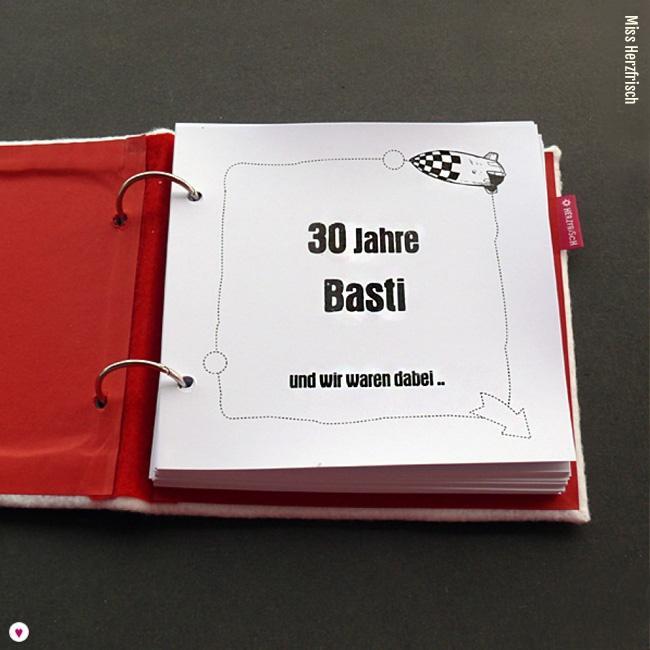 Miss Herzfrischs Geschichtenerzaehler Gästebuch Rotes Kreuz erste Seite