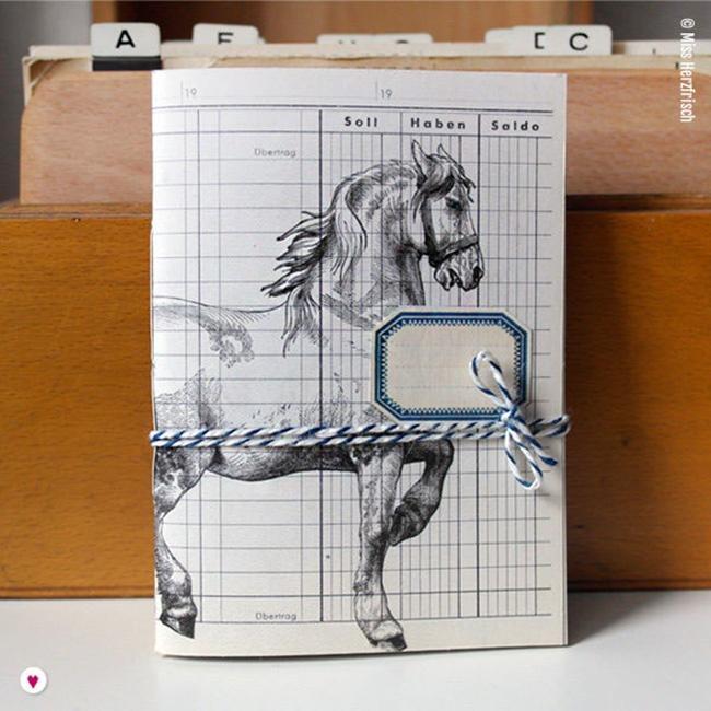 Miss Herzfrischs Ideensammler Pferd Notizheft