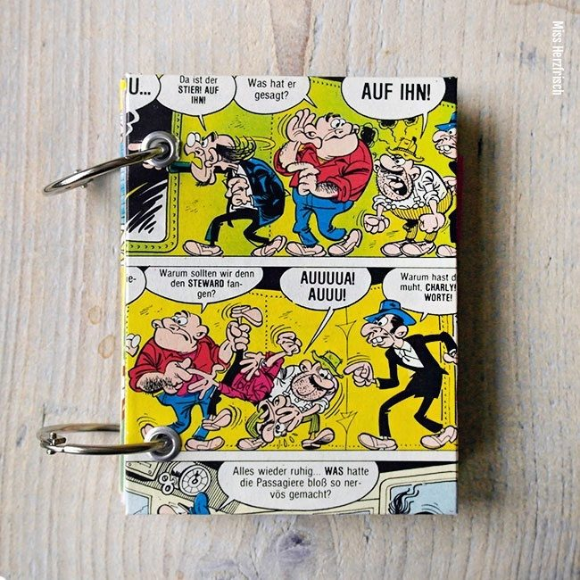 Miss Herzfrischs Mini Vergissmeinnicht Clever und Smart Notizbuch