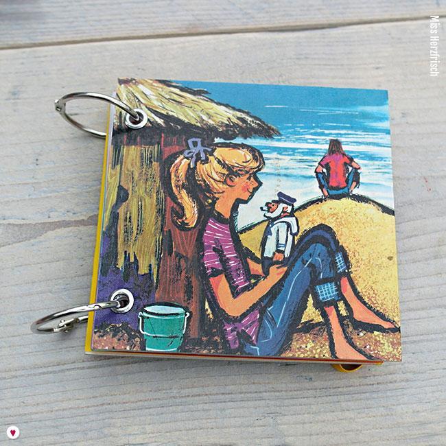 Miss Herzfrisch Minibuch Gille und der Gammler