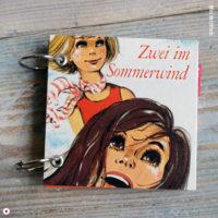 Retro Notizbuch Zwei im Sommerwind von Margot Kreuter