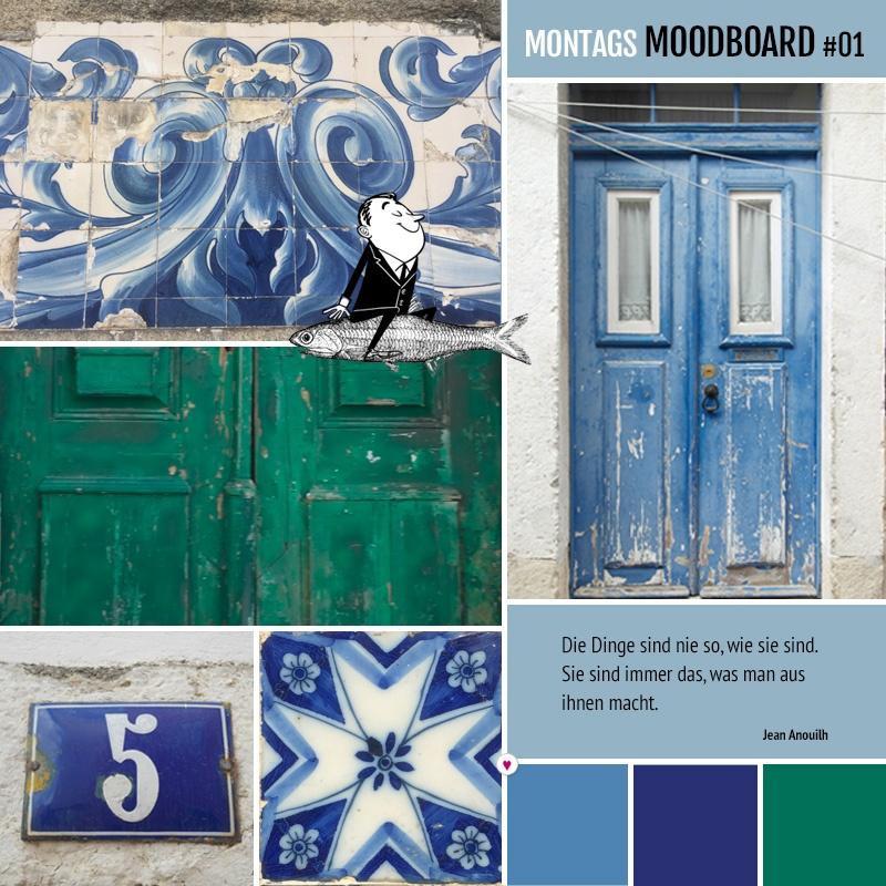 Montags Moodboard #01: Erinnerungen an Portugal