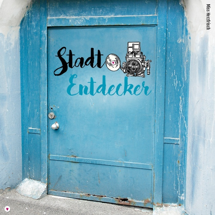 Miss Herzfrischs Projekt 2018 Stadtentdecker Wuppertal - blaue Tür -die Stadtentdecker Themen für Januar