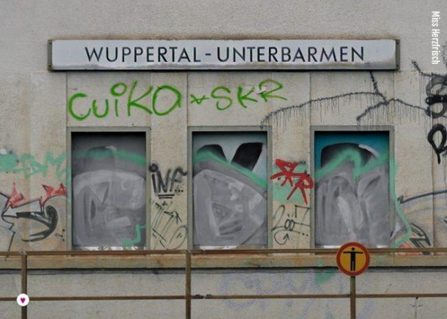 Projekt Stadtentdecker Wuppertal: verwittert - der Bahnhof Unterbarmen