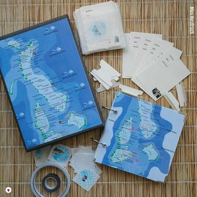 Miss Herzfrischs Wunschland Reisebox Malediven Inhalt