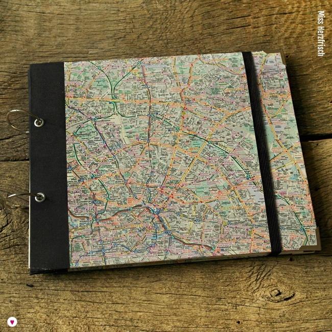 Miss Herzfrischs Wunschlandbummler Reisetagebuch und Fotoalbum Berlin