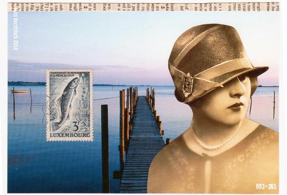 Miss Herzfrischs 365 Postkartengrüße - Lonely Fishing