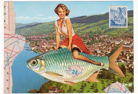 Miss Herzfrischs 365 Postkartengrüße – Gute Reise