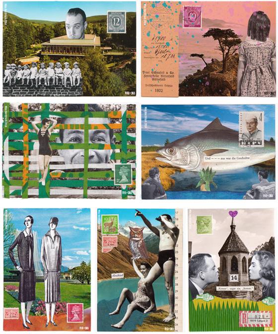 Miss Herzfrischs 365 Postkartengrüße Nr. 008 - 015