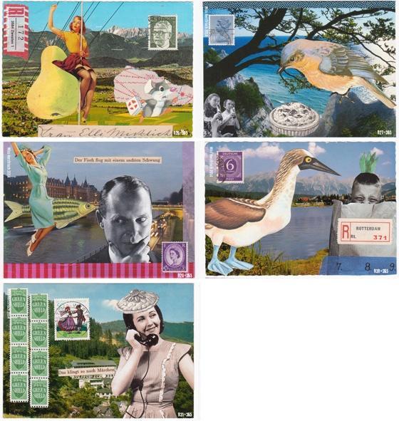 Miss Herzfrischs 365 Postkartengrüße Nr. 025 - 031
