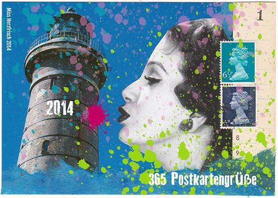 Miss Herzfrischs 365 Postkartengrüße - Projekt 2014