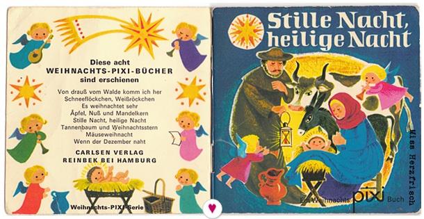 Miss Herzfrischs Adventskalender 8.Türchen2012 Pixibuch Stille Nacht