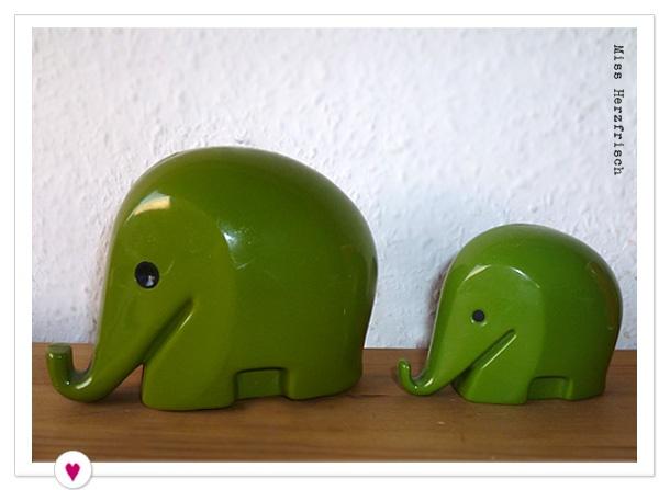 Miss Herzfrischs Alltagshelden Elefanten Spardosen