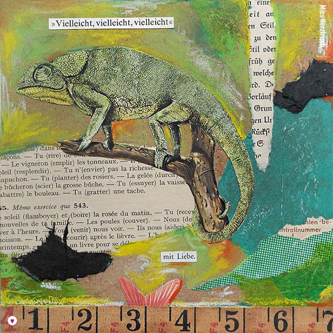 Miss Herzfrischs 15fünfzehn Collage - vielleicht ... mit Liebe