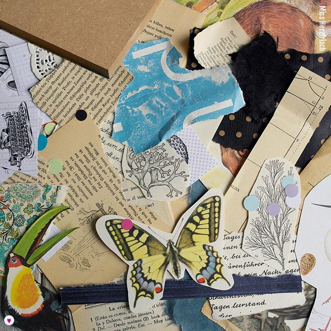 Miss Herzfrisch Collage 15fünfzehn Starterpaket