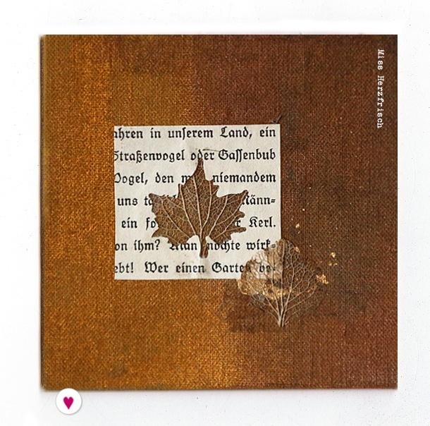 Miss Herzfrischs Drawingchallenge collage Leaves