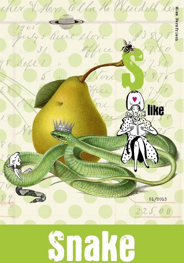 missherzfrischs_drawingchallenge_snake