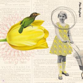 Miss Herzfrisch im Tulpenfieber - mit bunten Musterspielereien