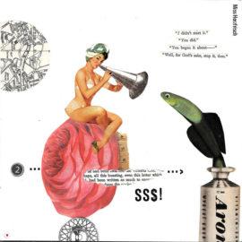 Miss Herzfrischs Originalcollage Frühlingsmusik