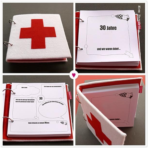 Miss Herzfrischs Gästebuch Rotes Kreuz