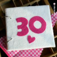 Miss Herzfrischs Geschichtenerzaehler Gästebuch 30.Geburtstag