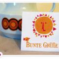 Miss Herzfrischs Freebie: Ein bißchen Sonnenschein Minikarte