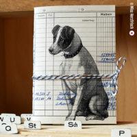 Miss Herzfrischs Ideensammler Hund Notizheft