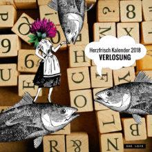 Miss Herzfrisch Kalender für 2018 endlich eingetroffen & zu gewinnen!