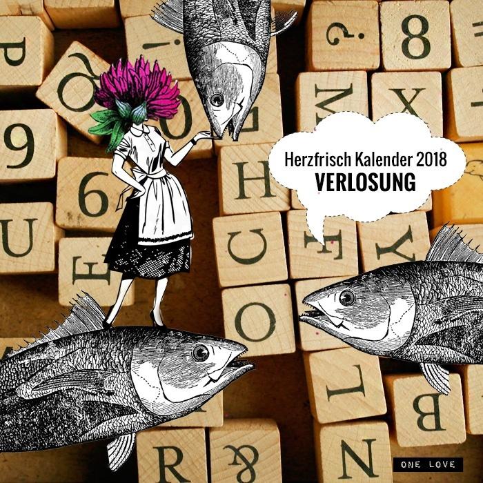 Miss Herzfrisch Kalender 2018 Verlosung
