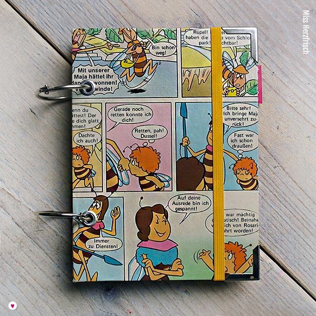 Miss Herzfrischs Biene Maja Kalender 2018 Cover