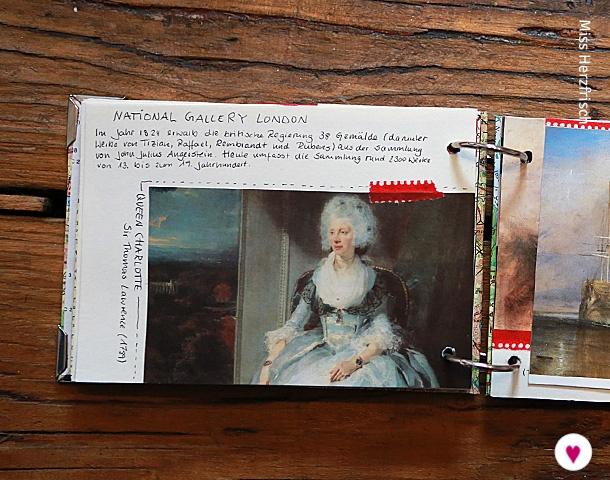 Miss Herzfrischs London Reisetagebuch - National Gallery