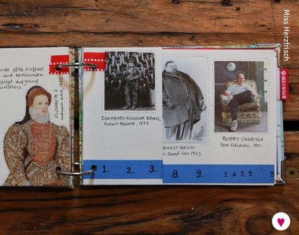 Miss Herzfrischs London Reisetagebuch Portrait Gallery